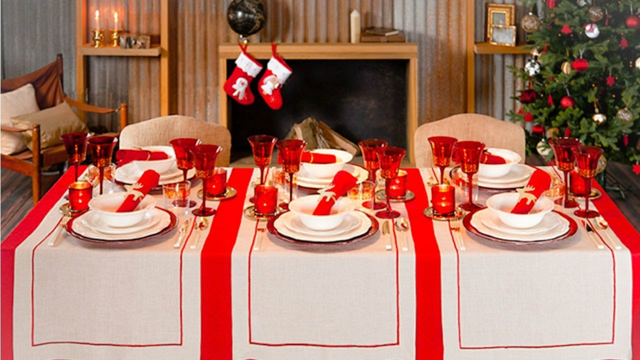 Increble Ideas Para Decorar La Mesa De Navidad Ornamento Ideas de